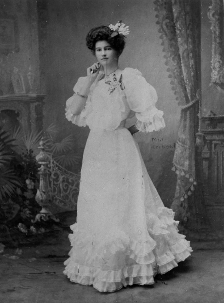 1900 Wedding Dress Vintage