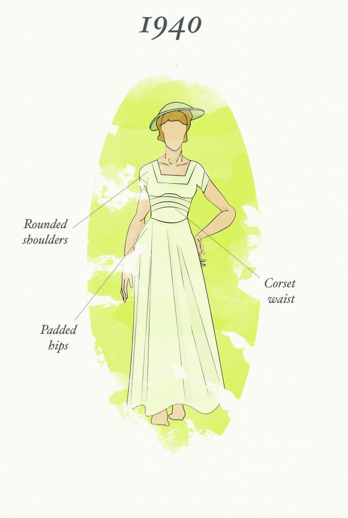 1940 Wedding Dress